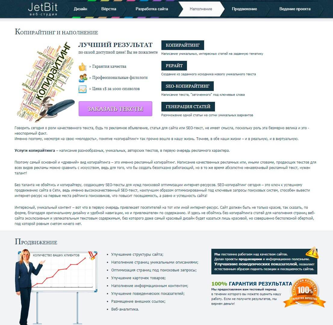 JetBit - обзор компании, услуги, отзывы, клиенты, Фото № 2 - google-seo.pro