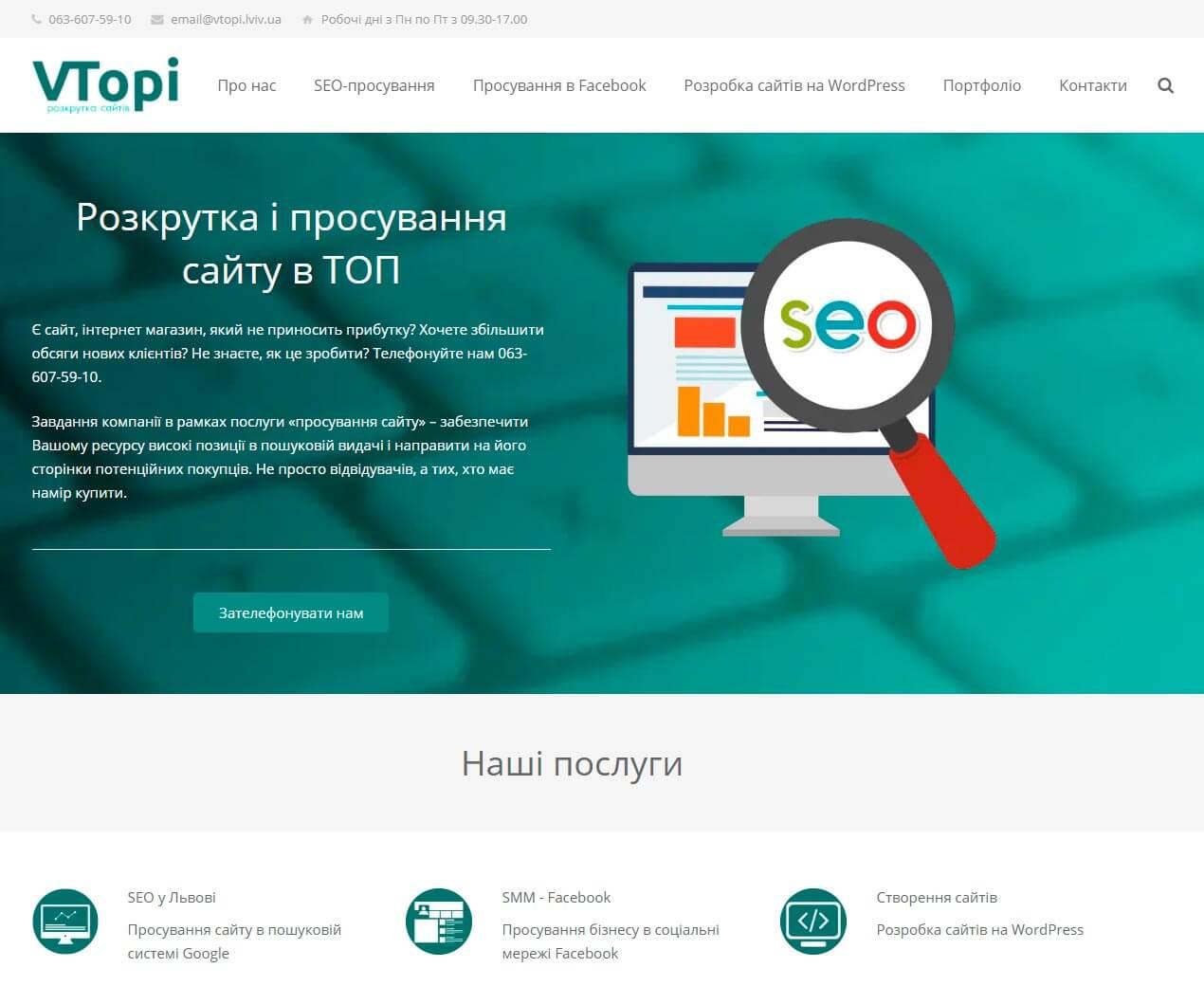 VTopi - обзор компании, услуги, отзывы, клиенты | Google SEO, Фото № 1 - google-seo.pro