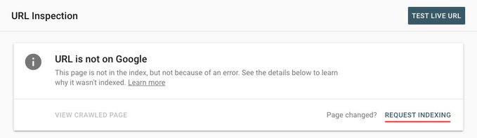 Google Search Console возобновил работу инструмента индексации, Фото № 2 - google-seo.pro