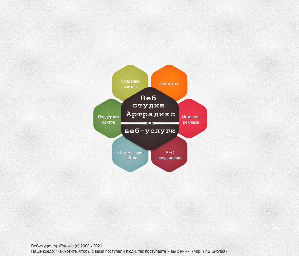 АртРадикс - обзор компании, услуги, отзывы, клиенты, Фото № 1 - google-seo.pro