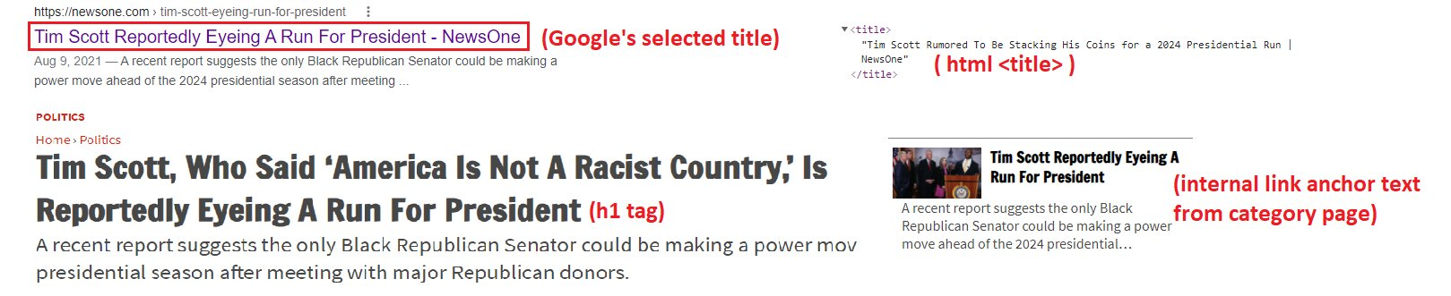 Google может заменять Title на H1 в выдаче, Фото № 2 - google-seo.pro