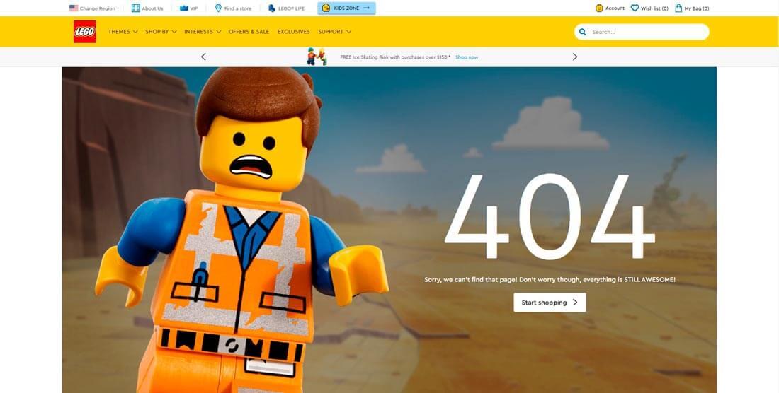 Страница 404: зачем она нужна, как её оформить и оптимизировать, Фото № 5 - google-seo.pro