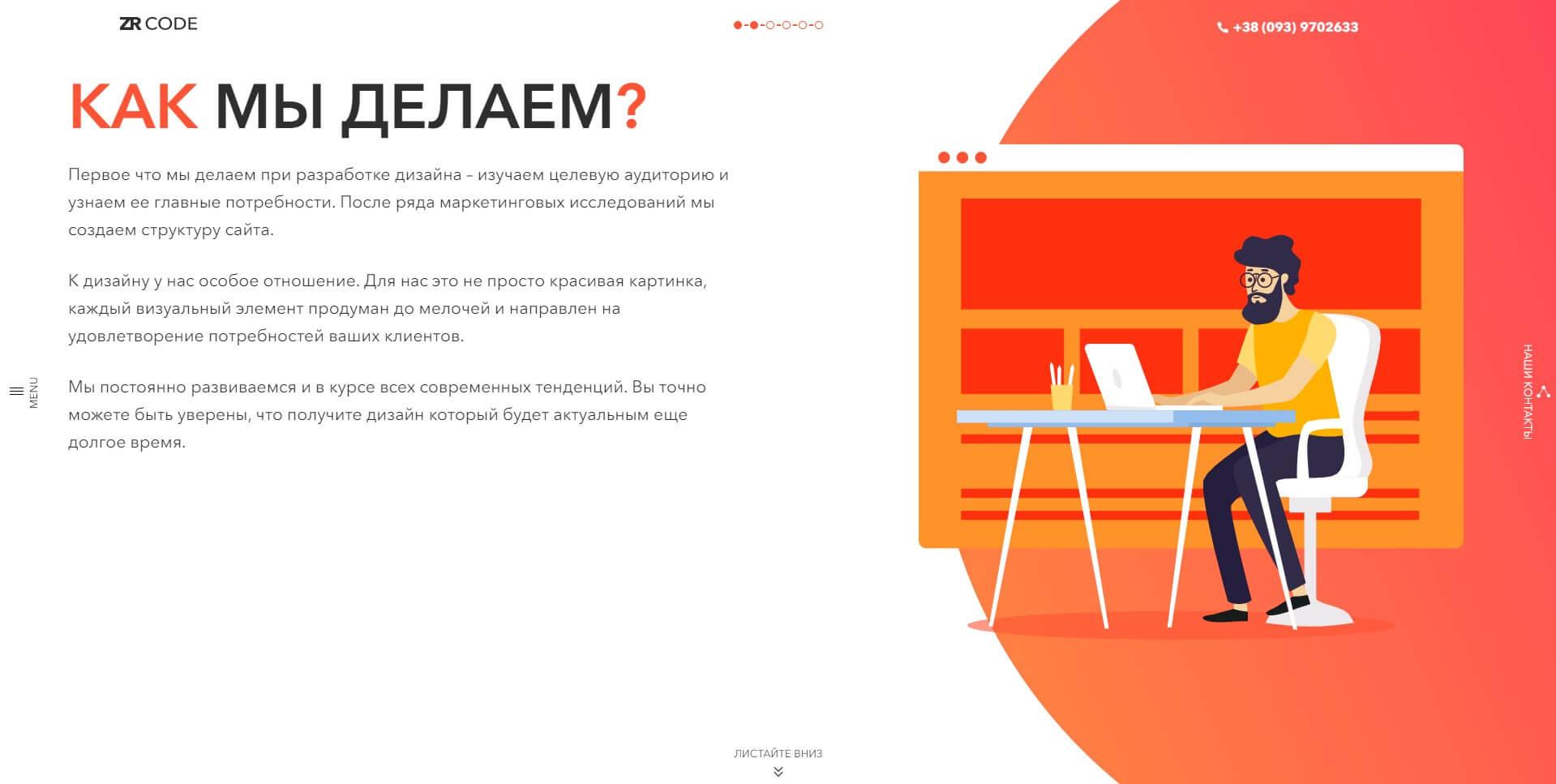 ZR code - обзор компании, услуги, отзывы, клиенты, Фото № 2 - google-seo.pro