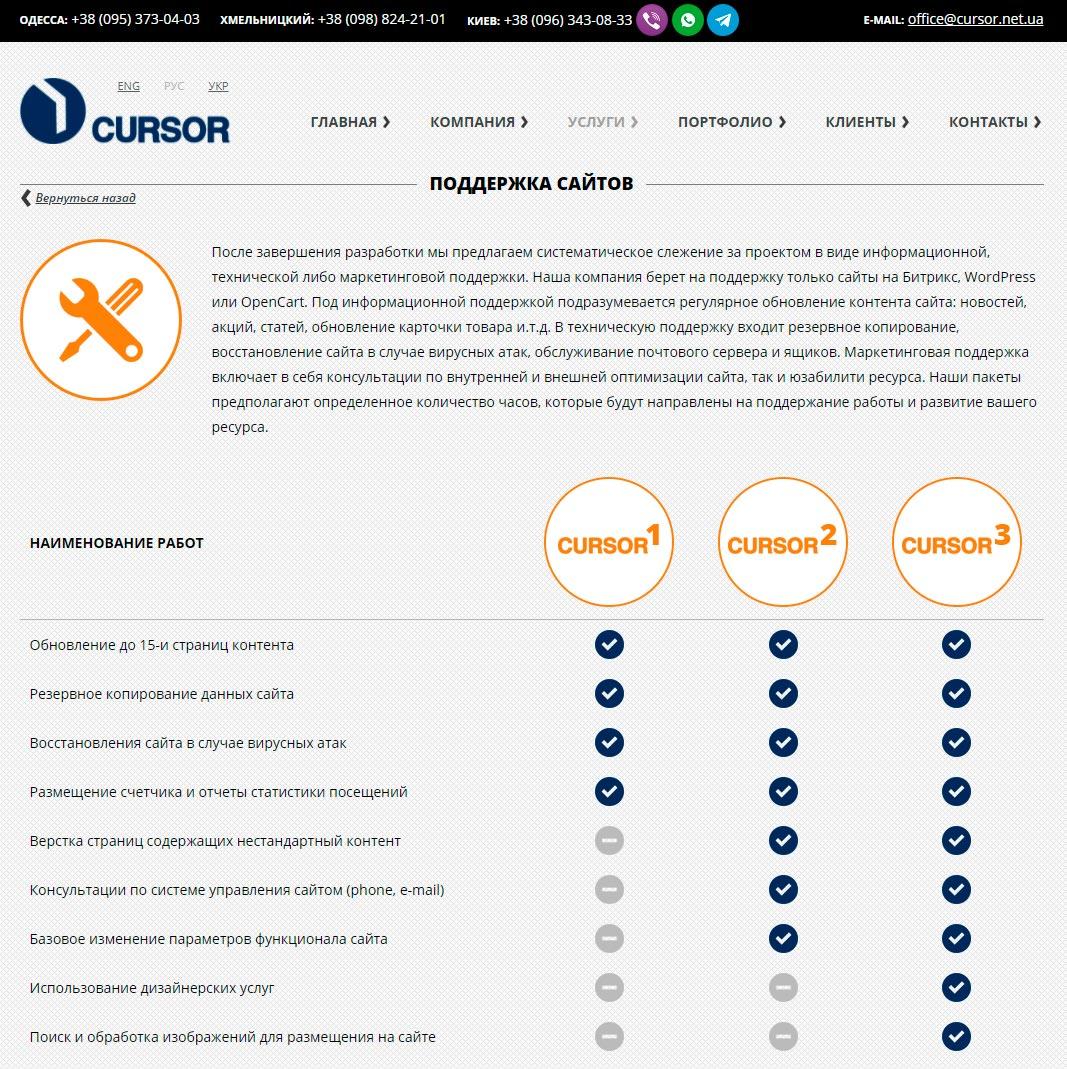 Cursor - обзор компании, услуги, отзывы, клиенты, Фото № 3 - google-seo.pro